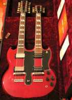 guitarra Gibson EDS-1275 with EMG pickups